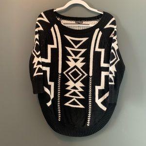 4678ad3ffb99 Women s Express Aztec Sweater on Poshmark